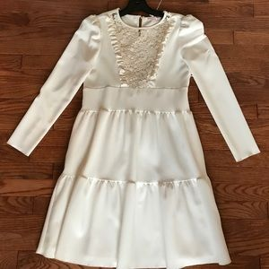 See by Chloe Lace Ruffle Dress size 38 (6)